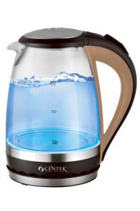 Чайник CENTEK CT-0046 2200 Вт, 1,7 литра,стекло