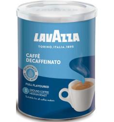 Lavazza молотый Decaffeinato 250 гр ж/б