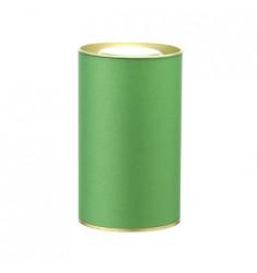 Банка картонная (Тубус) для чая 73*125 (зеленый)