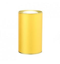 Банка картонная (Тубус) для чая 73*125 (золото)