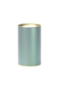 Банка картонная (Тубус) для чая 73*125 (темно-зеленый)