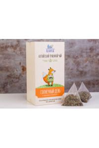 """Травяной чай """"Солнечный день"""", в пирамидках 2,5 гр коробка 10 шт"""