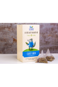 """Травяной чай """"Секрет Тайги"""", в пирамидках 2,5 гр коробка 10 шт"""