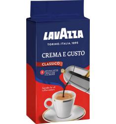 Lavazza молотый Крем Густо 250 гр в/у