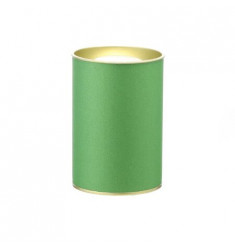 Банка картонная (Тубус) для чая 63*95 (зеленый)
