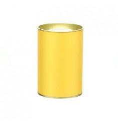 Банка картонная (Тубус) для чая 63*95 (золото)