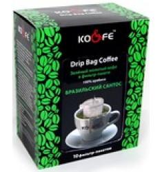 кофе в фильтр-пакете Бразилия Сантос