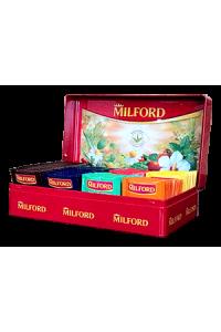 чай милфорд в металлической шкатулке